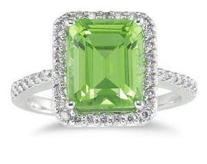 450-Carat-Emerald-Cut-Peridot-and-Diamond-Ring-14K-White-Gold-0