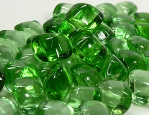 Peridot Green Glass