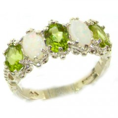 peridot engagement wedding rings - Peridot Wedding Rings