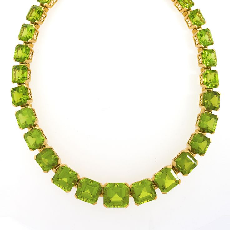 Dolce & Gabbana Peridot Necklace