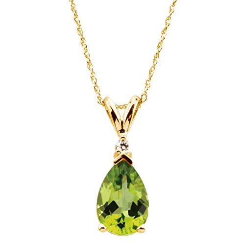item jewelry yellow necklace gold pendant peridot in